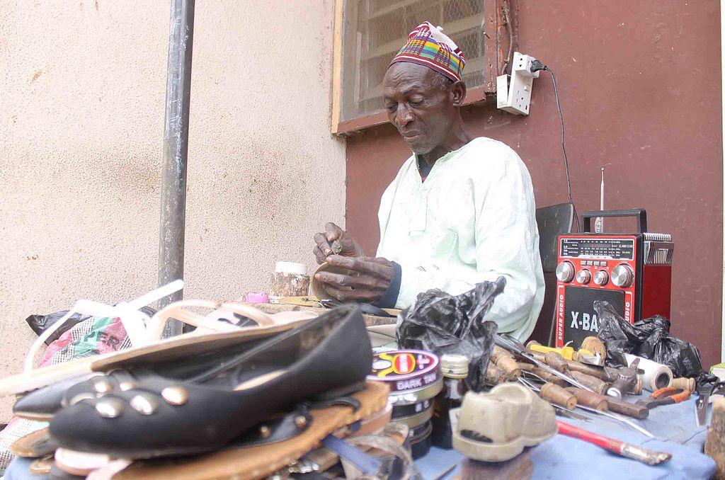 Elderly cobbler 2