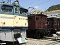 Electric locomotives at Sakuma Rail Park.jpg