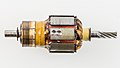 Electric motor rotor with balance drill-holes-8593.jpg
