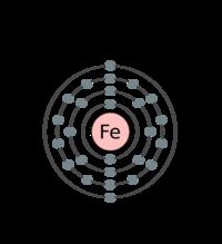 200px Electron Shell 026 Iron
