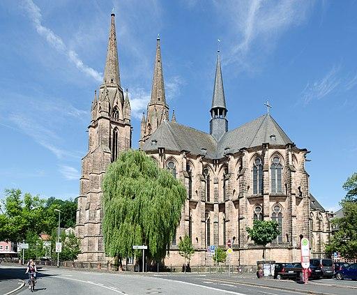Elisabethkirche Marburg von SO