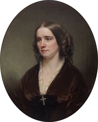 William Thompson Walters - Ellen Harper Walters (George Augustus Baker, circa 1859)