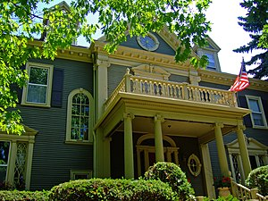 Richard T. Ely - The Richard T. Ely House in Madison, Wisconsin