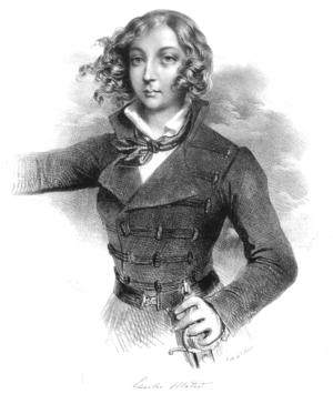 Emilia Plater - Emilia Plater, anonymous 19th century engraving