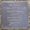 Emma Guttmann - Sierichstraße 153 (Hamburg-Winterhude).Stolperstein.crop.ajb.jpg