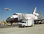 Endeavour with Columbia Ferry Flyby - GPN-2000-001996.jpg
