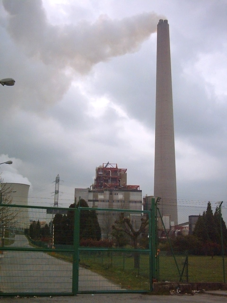 Central térmica das Pontes.