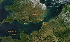 Canal De La Mancha Wikipedia La Enciclopedia Libre