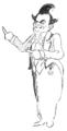 Enrico Caruso von ihm selbst gezeichnet 1914 Wiener Bilder-856x1681.png