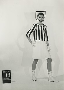 Women's suit set 15, André Courrèges, 1965