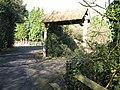 Entrance to Farthings Barn - geograph.org.uk - 1162256.jpg