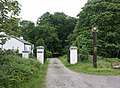 Entrance to Tighnabruaich Cemetery - geograph.org.uk - 22819.jpg
