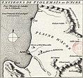 Environs de Ptolémaïs ou d'Acre pour l'Histoire de Saladin. par le Sr d'Anville.jpg