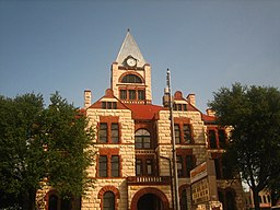 Erath County Courthouse i Stephenville.