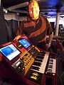 Eric Persing showing off his OMG-1 synthesizer @ Moogfest2011.jpg