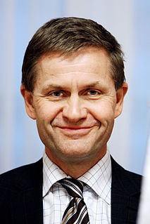Erik Solheim Norwegian politician