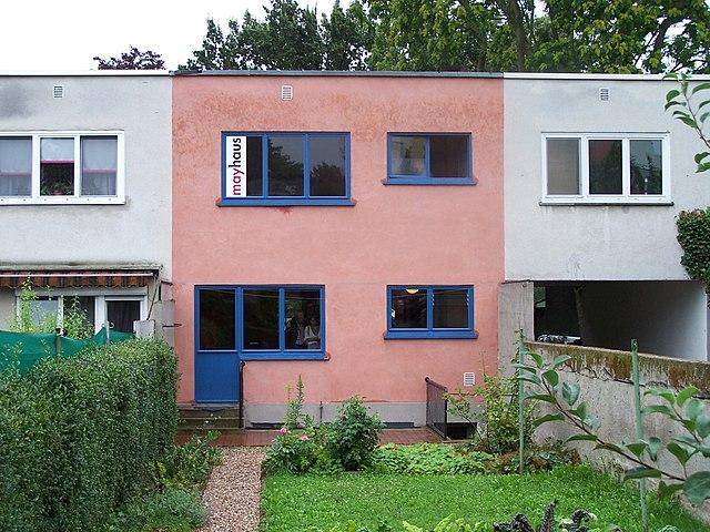 Der Hausgarten 1929 @ Mayhaus Römerstadt | Frankfurt am Main | Hessen | Deutschland
