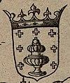 Escudo da Galiza na Nova Descriptio Hispaniae de Thomas Gemini (1555).jpg