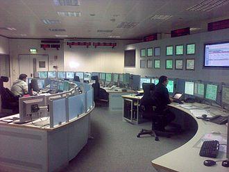 ESTRACK - ESTRACK control centre in ESOC
