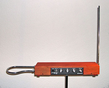 An Etherwave-Theremin, assembled from Robert M...