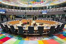 Europäischer Rat Versammlungsraum