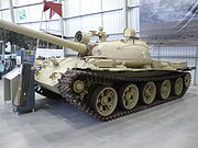 Ex-Iraqi T-62 tank at the Bovington Tank Museum