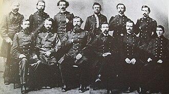 Lambdin P. Milligan - Military commission that originally convicted Milligan.