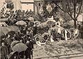 Exhumation des restes de Rossini - le catafalque dressé au dépositoire de la ville de Paris (cropped).jpg