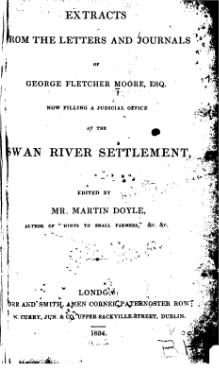Extracts from the letters and journals of George Fletcher Moore.djvu