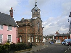 Eye Town Hall, Suffolk - geograph.org.uk - 155636.jpg