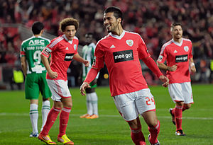 Ezequiel Garay on Benfica.jpg
