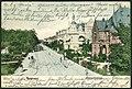 F. Astholz jun. AK 0191 Hannover. Thiergartenstrasse. Bildseite coloriert, 1899, heutige Hindenburgstrasse.jpg