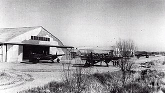 Operation Beleaguer - A Marine Corps Grumman F7F-3N Tigercat at Peking's Nan Yuan Airfield in December 1945