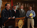 FEMA - 34813 - FEMA Administrator David Paulison and Governor Mike Beebe at press conference.jpg