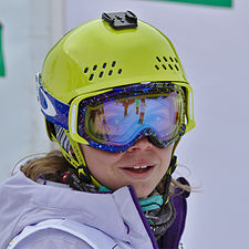 FIS Moguls World Cup 2015 Finals - Megève - 20150315 - Yulia Galysheva.jpg