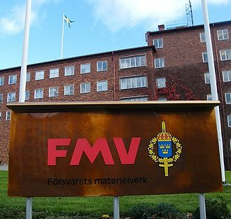 Defence Materiel Administration - FMV headquarters in Stockholm.