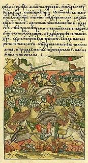 <i>Life of Alexander Nevsky</i> (illuminated manuscript) 16th-century illuminated manuscript