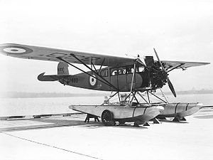 Fairchild 71 - Fairchild 71 in RCAF colours