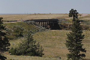 National Register of Historic Places listings in Fall River County, South Dakota - Image: Fall River County SD Chilson Bridge