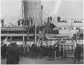 Famous (African American) regiment arrives home on the France. (The) 369th New York City Infant . . . - NARA - 533560.tif