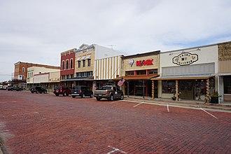 Farmersville, Texas - McKinney Street in Farmersville