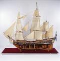Fartygsmodell-GÖTA LEJON, ENIGHETEN. Före 1748 - Sjöhistoriska museet - O 00008.tif