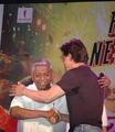 Father Felix Raj with Shah Ruk Khan.png