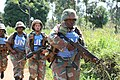 Female combat troops of South African Contingent in MONUSCO on robust foot and moblile patrols 61.jpg