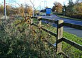 Fence alongside Narborough Road South - geograph.org.uk - 1045506.jpg