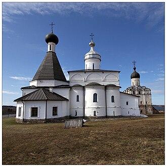 http://upload.wikimedia.org/wikipedia/commons/thumb/c/c8/Ferapontov_Monastery_2009.jpg/330px-Ferapontov_Monastery_2009.jpg