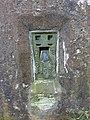 Fernhurst Trig Pillar, Flush bracket - geograph.org.uk - 2311746.jpg