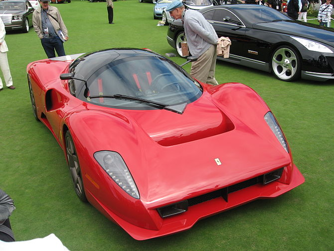 Another angle of the Ferrari P4/5
