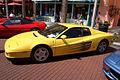 Ferrari Testarossa 1990 Yellow LSide CECF 9April2011 (14600258952) (2).jpg