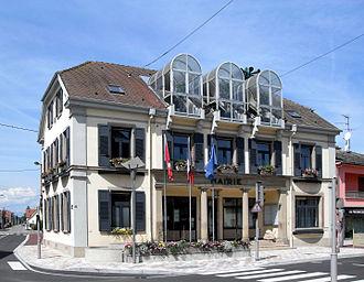 Fessenheim - The town hall in Fessenheim